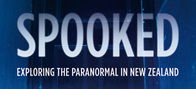 spooked exploring the paranormal in new zealand jo davy, james gilberd author, book about the paranormal in new zealand, ghost hunting book